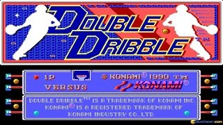 Double Dribble gameplay (PC Game, 1987)