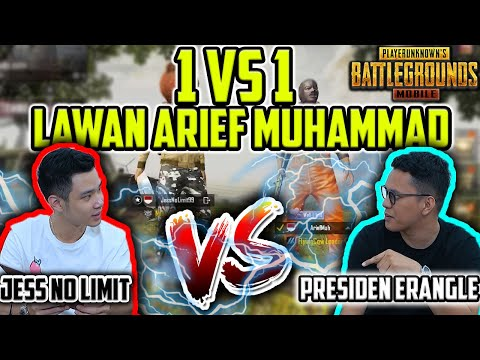 JESS NO LIMIT VS ARIEF MUHAMMAD -  ADU BANYAK KILL!! PUBG Mobile