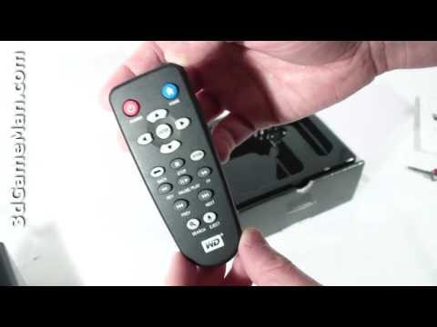 #1 - WD TV HD Media Player Unboxing Video