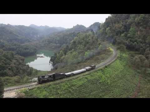 China Steam 2012 - Part 2 of 4 - Narrow Gauge in Sichuan