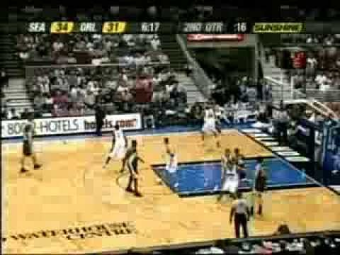 Brent Barry (25pts/10asts/6threes) vs. Magic (2004)