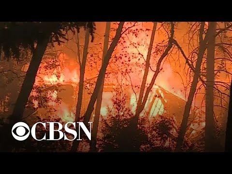 14 fires ablaze throughout California; dozens dead