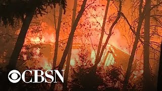 14 fires ablaze throughout California; dozens dead