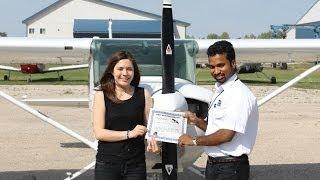 Canadain Aviator  Hamilton Watch Winner