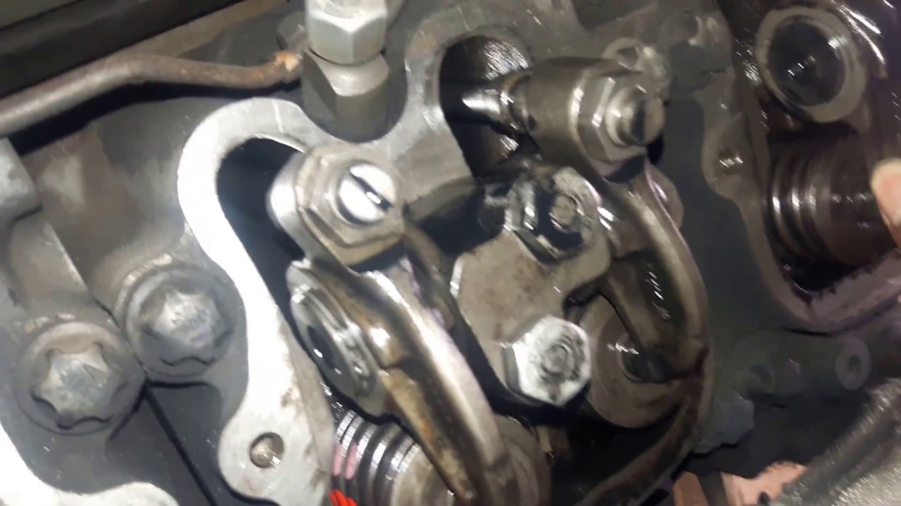 How to adjust valve lash on a Cat C7 by cody cannon