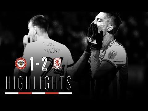Match Highlights: Brentford vs Middlesbrough