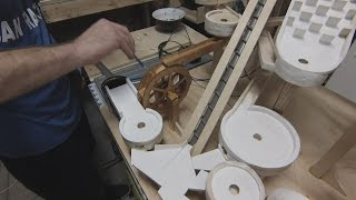 Mini Golf Marble Machine Build, Part 7 (Spackle and Stain)