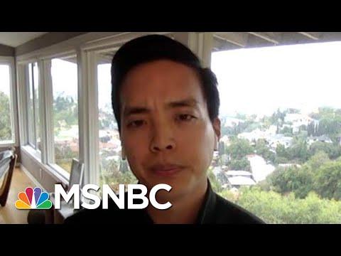 Alan Yang On Anti-Asian Bias: We're All 'Fighting The Same Common Enemy' | Hallie Jackson | MSNBC
