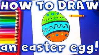 How to Draw an Easy Easter Egg