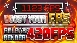 ➕BIGGEST FPS BOOST EVER [2018]➕RELEASE 420 FPS RENDER✅BEST ASIA👑
