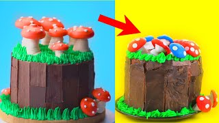 TRYING Perfect And Easy Cake Decorating Ideas Best Chocolate Cake Hacks So Yummy Cake Recipes