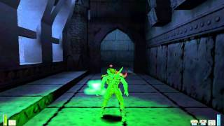 Heretic 2 II PC last level, final boss fight and ending
