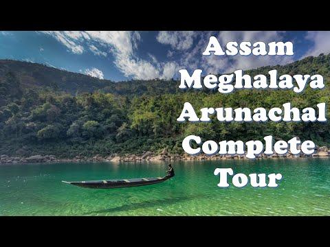 Amazing NorthEast | Assam Meghalaya Arunachal | Complete Tour |  Pradesh | Northeast India| TRAVEL