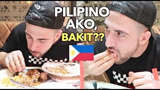 Eating Bare Hands In An Expensive Pang Mayaman! Restaurant! 😂