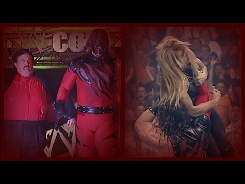 KANE W /PAUL BEARER |ATTACKS X PAC |CHOKESLAMS TORI!