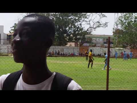 Great Assist By The Empty Land Goalkeeper In The Gambia