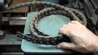 MACHINE SHOP TIPS #120 Linked V-Belts on the South Bend Lathe tubalcain