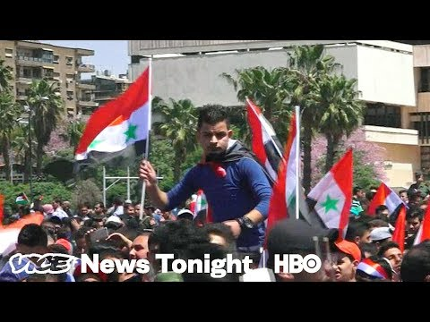 What Syrians Think About The U.S.'s Military Strikes (HBO)