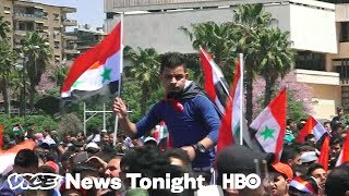 What Syrians Think About The U.S.\'s Military Strikes (HBO)