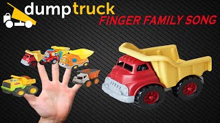 DumpTruck Finger Family Song | Nursery Rhyme