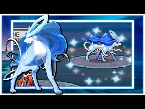 [LIVE] Shiny Suicune After 1766 SRs In Soul Silver!