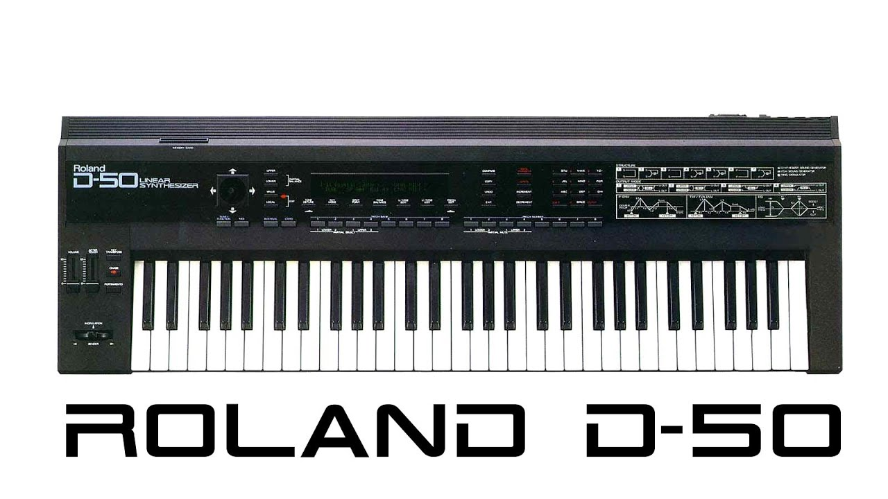Roland D-50 and Jean Michel Jarre sounds - YouTube