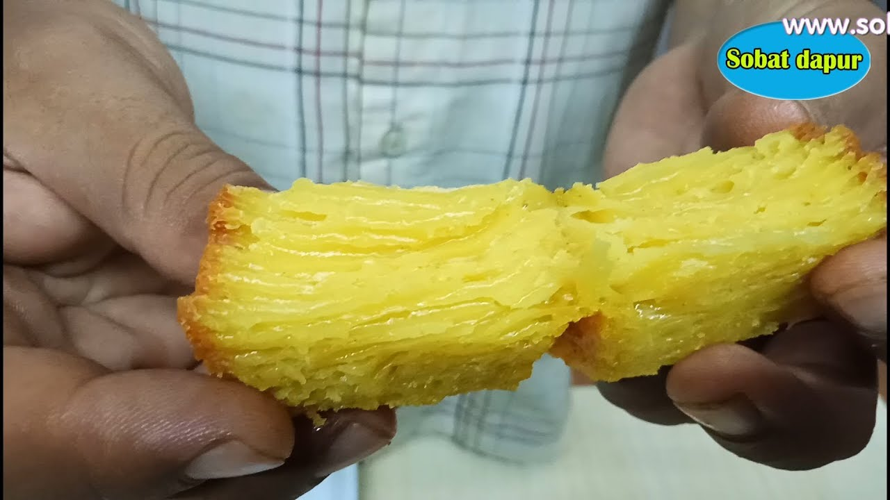 Bika Ambon Oven Bersarang Irit Telur Youtube Food Food Recipies Asian Desserts