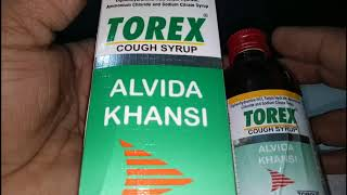 Torex Cough Syrup : Uses, Price, Side Effects, Composition
