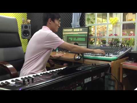 Phối nhạc từ korg PA4X Phan Trung Mẫn