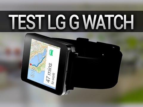 Test de la smartwatch LG G Watch