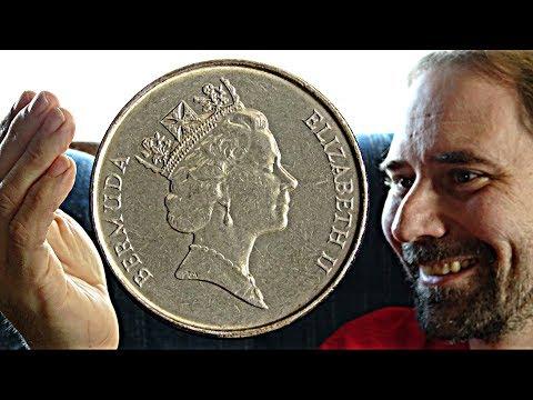 Bermuda 5 Cent 1997