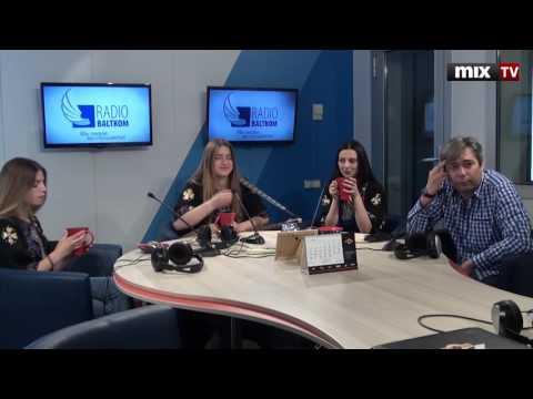 """Trio Mandili и продюсер Ростислав Маслович в программе """"Встретились, поговорили""""   #MIXTV"""
