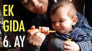 Ek gıdaya geçiş | 6. ay | acemi anne