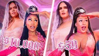 KAROL G, Nicki Minaj CON BAJO PRESUPUESTO! TUSA 💜