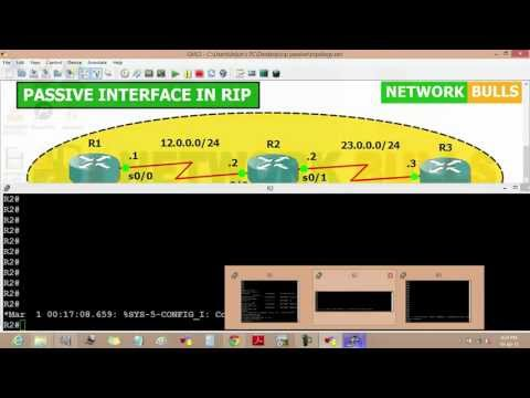 How to Configure Passive Interface in RIP Routing Protocol - CCNA R&S