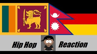 German Reacts to Lankan & Nepali Rap/Hip Hop (Desi Rap Part 2) | Teddy Neptune