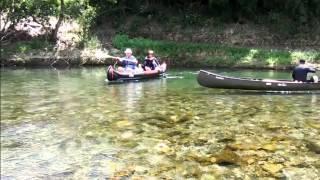 今回も綺麗な川で中年のオジサン達は年を忘れて はしゃぎまわりました。