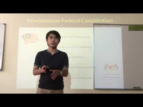 The Application of Islamic Law in Malaysia (With Visual Aid)