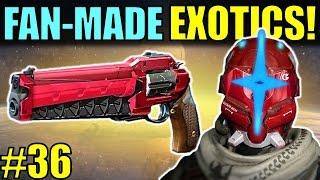 Destiny: FAN-MADE EXOTICS! | FLAK CANNON! | Submit YOUR Exotic Idea! | Part 36