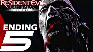 Resident Evil Outbreak File #2 HD - Gameplay Walkthrough Part 5 - ENDING End of The Road [4K 60FPS]