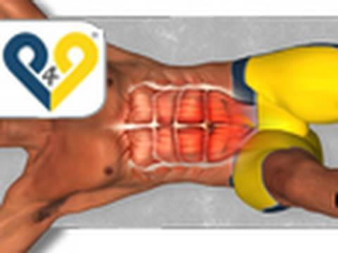 como hacer abdominales inferiores y superiores