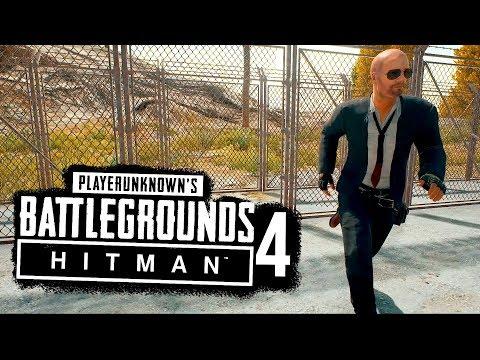 СНАЙПЕР БЕЗ БРОНИ И ШЛЕМА В ТОП! -  Hitman в Battlegrounds #4