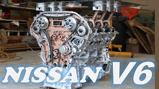 Why the Nissan VQ V6 Engine is Still Being Sought After, 20 Years Later