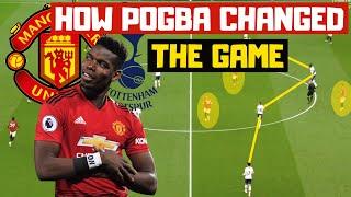 TOTTENHAM 1-1 MAN UTD TACTICAL ANALYSIS | How Paul Pogba Changed The Game For Solskjaer