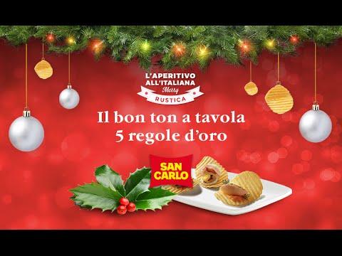 Merry rustica il bon ton a tavola le 5 regole d oro youtube - Bon ton a tavola regole ...