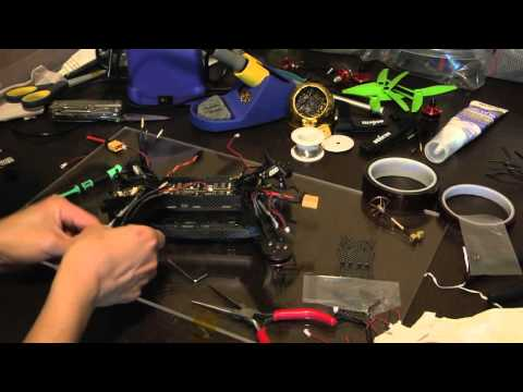 Rebuilding The KDS Kylin 250 Racing Quadcopter / Drone