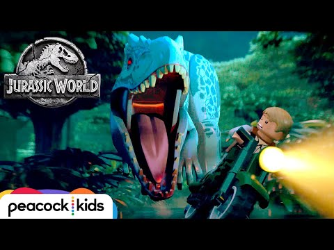 [FULL EPISODE] Indominus Escape! | LEGO JURASSIC WORLD