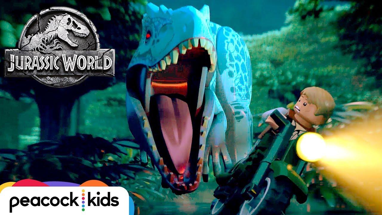 Full Episode Indominus Escape Lego Jurassic World Youtube
