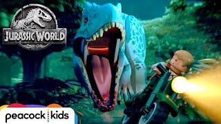 FULL EPISODE Indominus Escape  LEGO JURASSIC WORLD