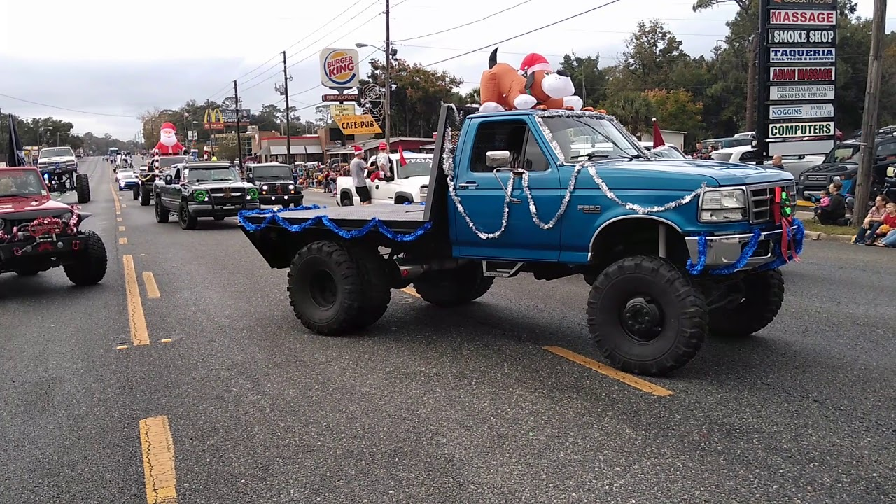 Belleview Christmas Parade 2019 End of the belleview Christmas parade, 2018   YouTube